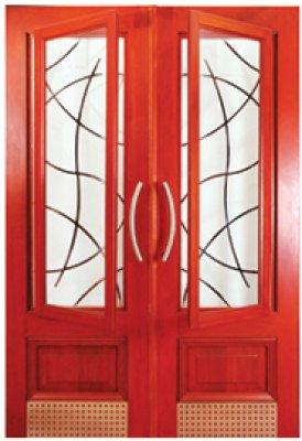 & McCoyu0027s Sirocco Grid Door